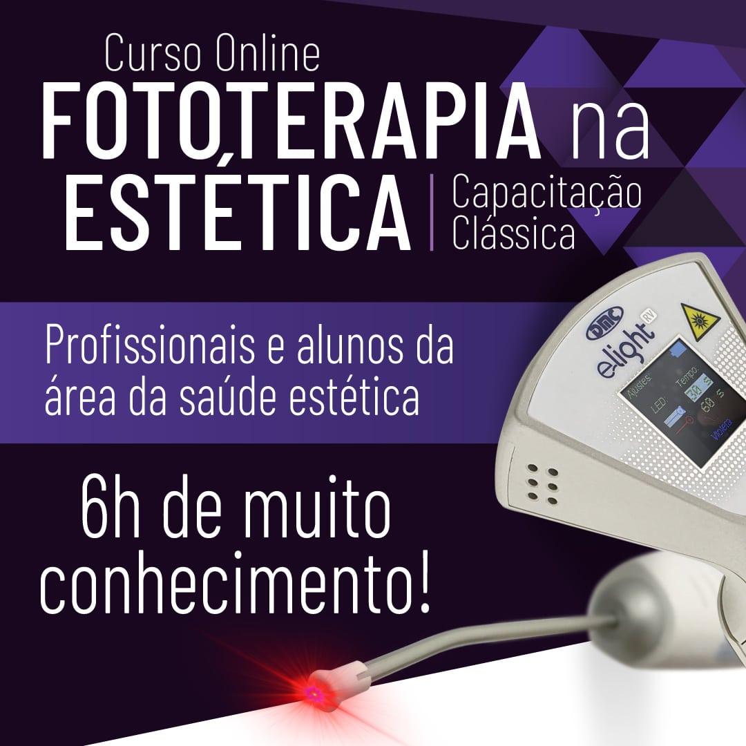Fototerapia na Estética